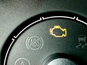 check engine light lit